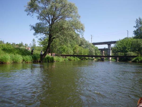 Мост в Манихино