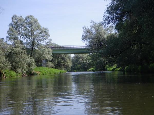 Автомобильный мост над Истрой в районе Лужков