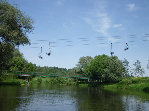 Спортивный комплекс Лужки на реке Истра