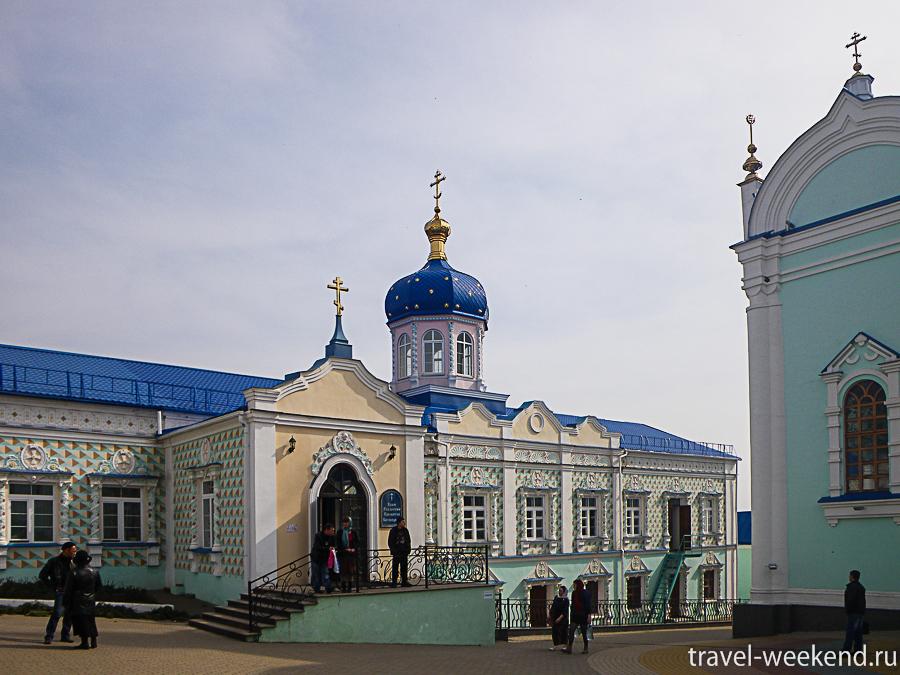церковь Вознесения Богородицы.
