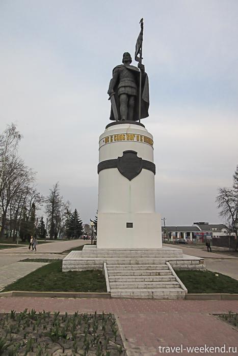 Курск, памятник Александру Невскому