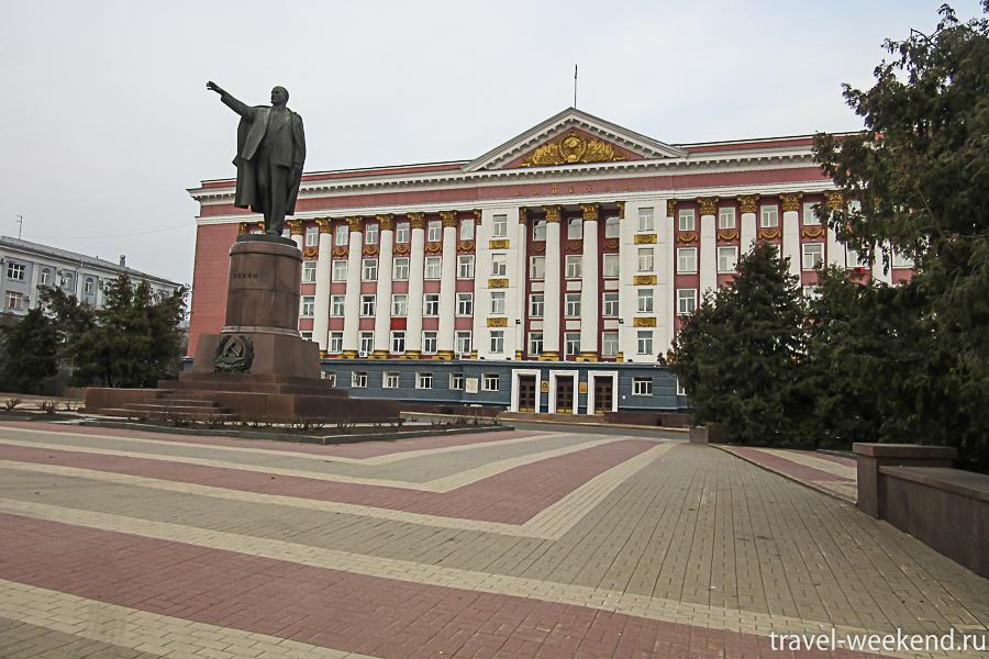 Курск, дом советов