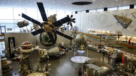 Музей истории космонавтики и дом-музей Циолковского в Калуге