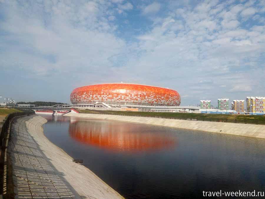 Саранск стадион