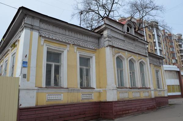 Тамбов. Дома по улице Советской