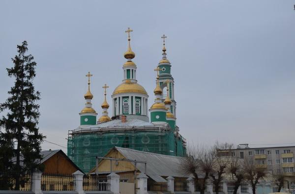 Тамбов. Спасо-Преображенский кафедральный собор