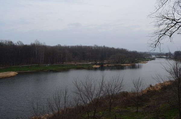 Тамбов. Река Цна