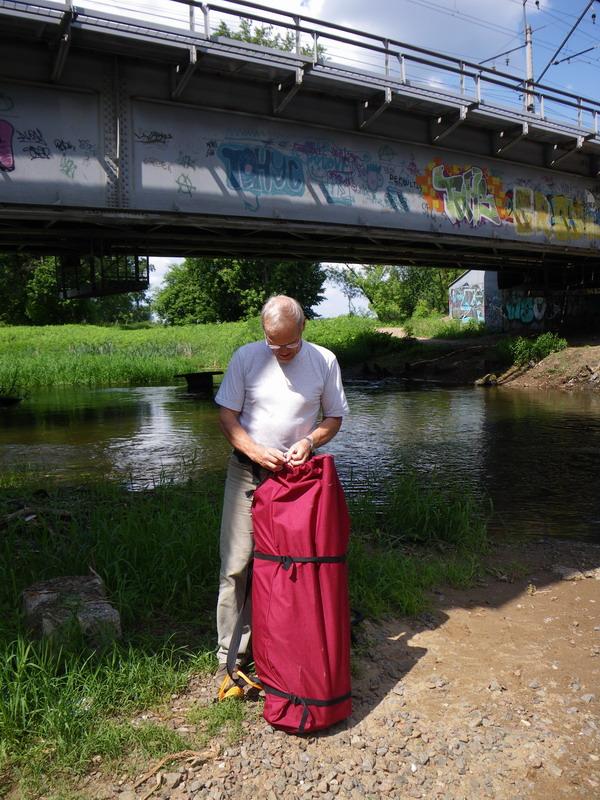 байдарка Щука-2 на реке Клязьма