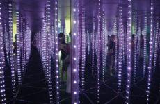 Зеркальный лабиринт на Авиамоторной