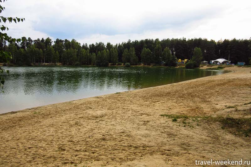 черноголовка озеро Южное