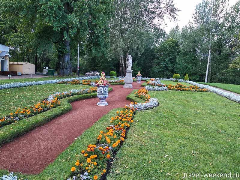 Стрельна Петровский путевой дворец