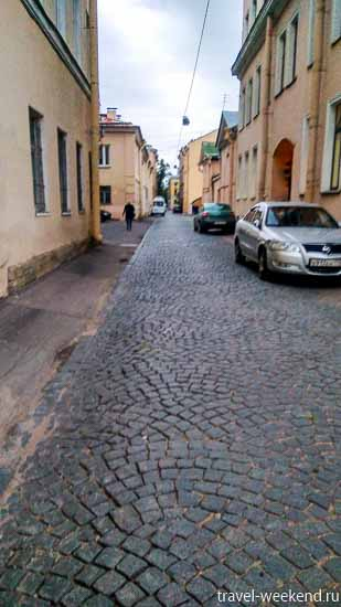 питер улица репина