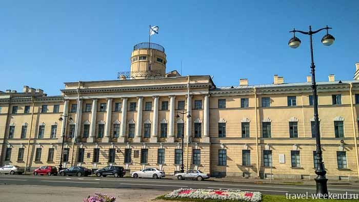 военно-морской институт на васильевском острове