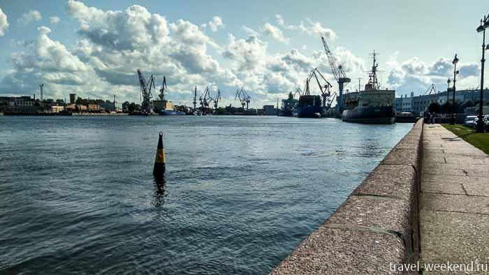 васильевский остров порт