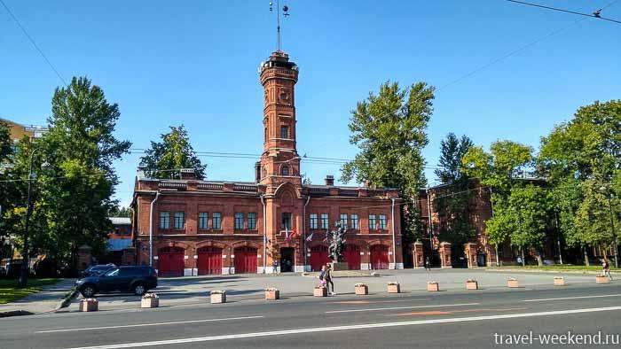васильевский остров пожарная часть