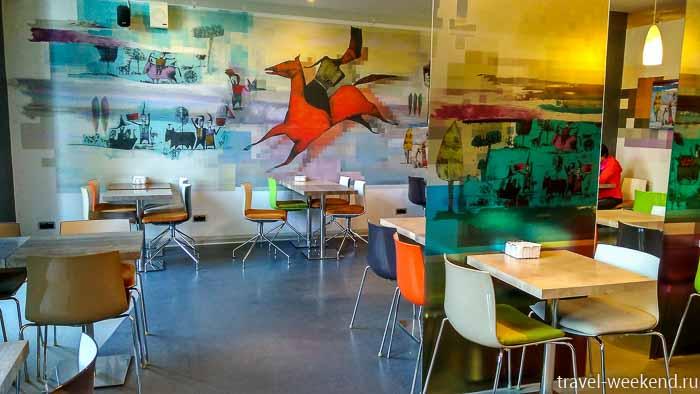 музей эрарта кафе