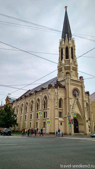 церковь васильевский остров
