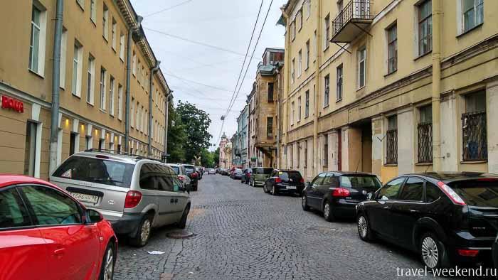 васильевский остров тучков переулок