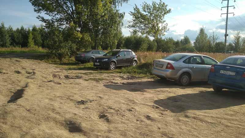 жостовский карьер парковка