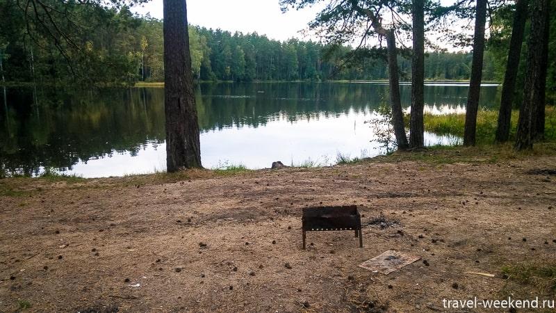 голубое озеро воря