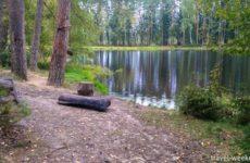 Голубое озеро, деревня Воря-Богородское
