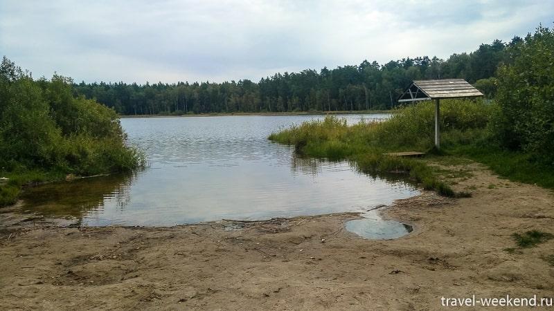 озеро черное зона отдыха