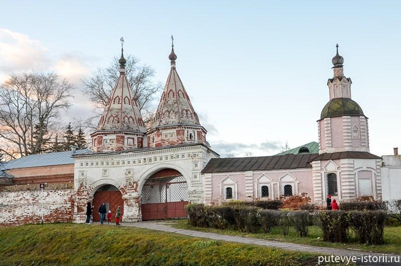 суздаль ризоположенский монастырь