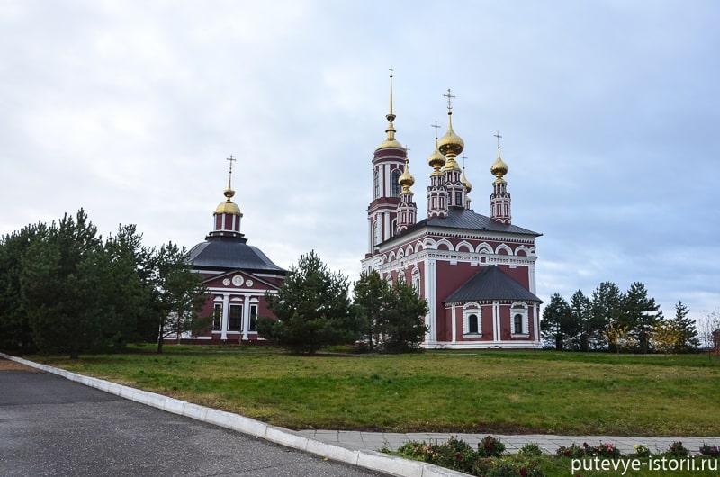 суздаль церкви мтхайловской стороны