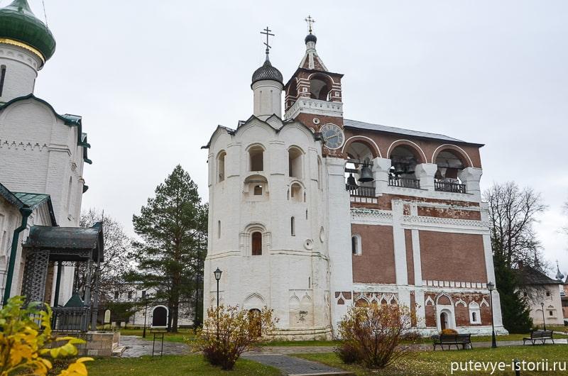 суздаль спасо евфимиев монастырь колокольня