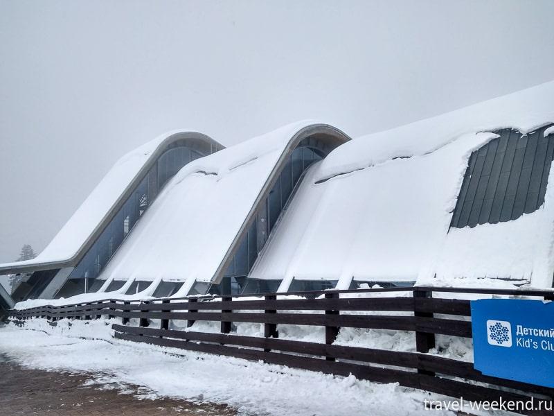 горнолыжный курорт газпром лаура подъемники