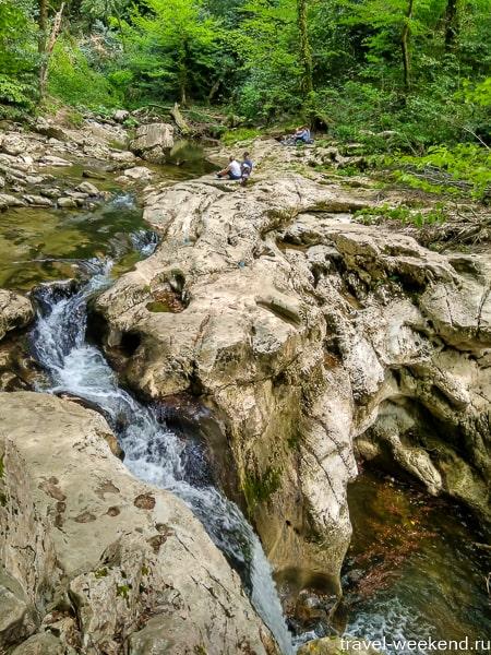 агурские водопады самостоятельно