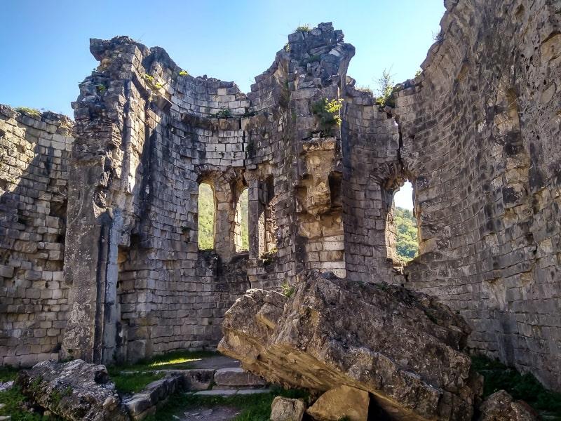 бзыбская крепость абхазия фото