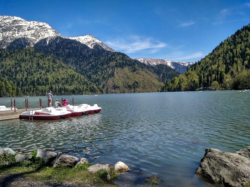 озеро рица маршрут по абхазии