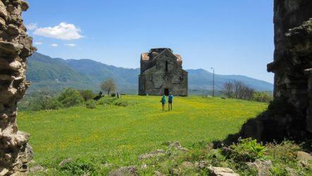 Бедийский собор на юге Абхазии
