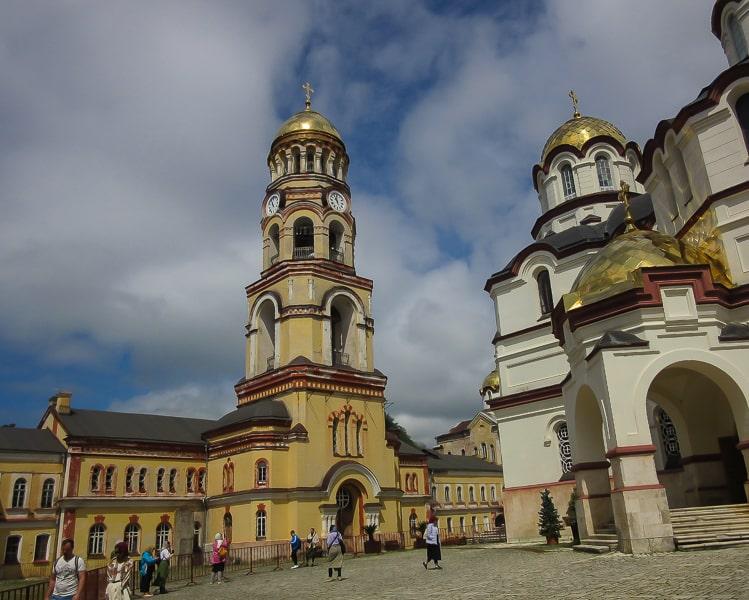 новоафонский монастырь фото